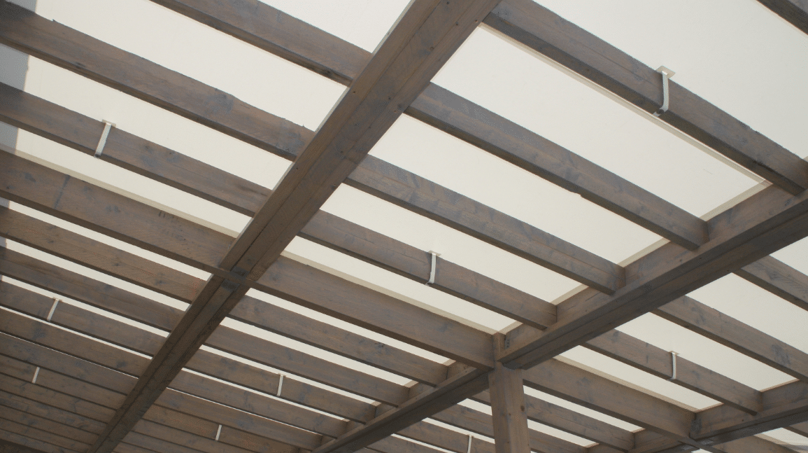 Pergola - Bache de toit