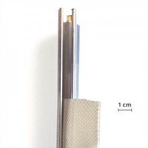 Rail alu ¢8,5mm