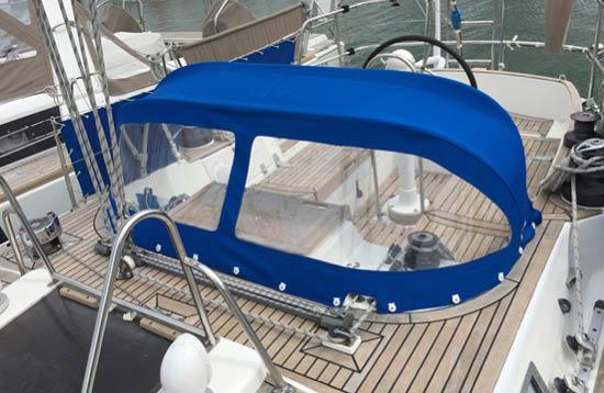 Couverture - Capote de bateau