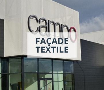 Façade textile