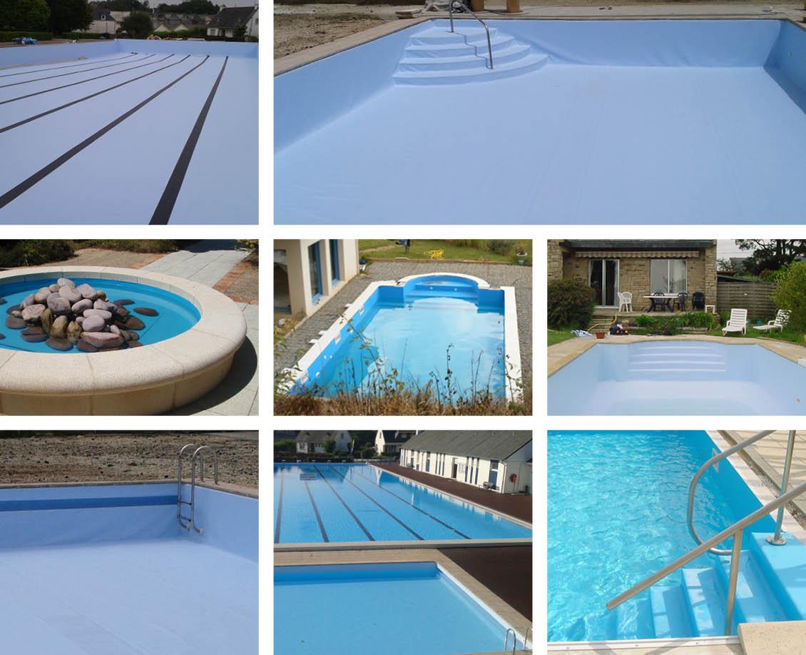 Mosaïque - Liner de piscine