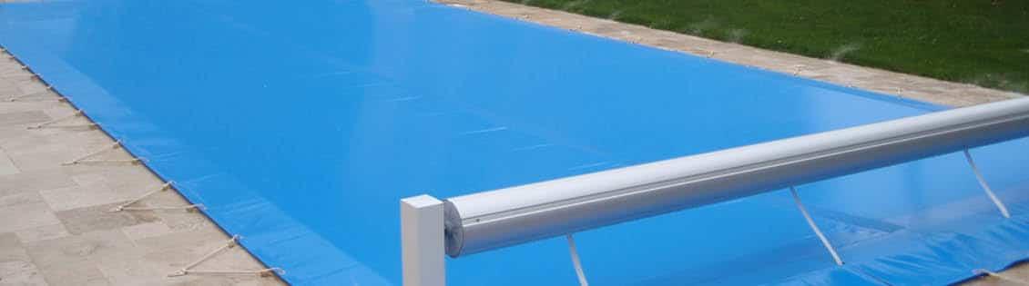 Mosaïque - Couverture de piscine